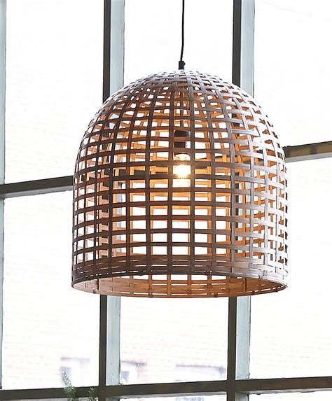 Bamboo Pendant Light Bamboo Pendant Light By Horsfall Wright Notonthehighstreet