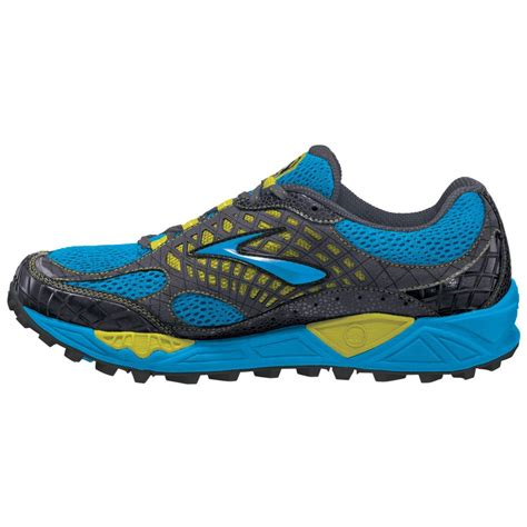 cascadia trail running shoes cascadia 7 trail running shoes euroblue citron anthracite