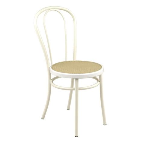 chaises blanche bistrot chaise blanche style bistrot blanc achat