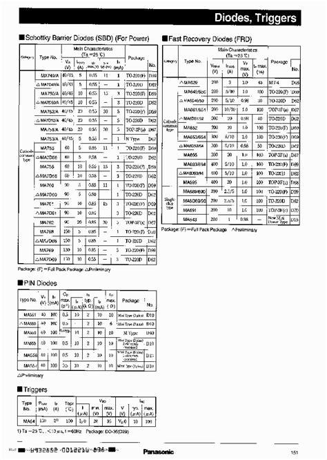 1n4148 diode datenblatt ma651 299294 pdf datasheet ic on line