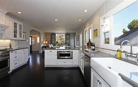 kitchens with white cabinets and dark floors white kitchen cabinets with dark floors write teens