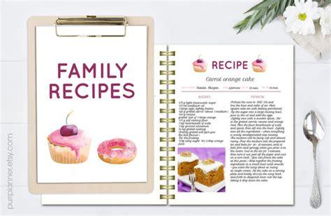 recetas de cocina para imprimir libro de recetas para imprimir plantilla de receta receta