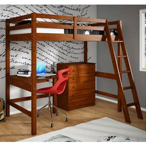 study loft bed study loft bedroom set with desk chest of drawers