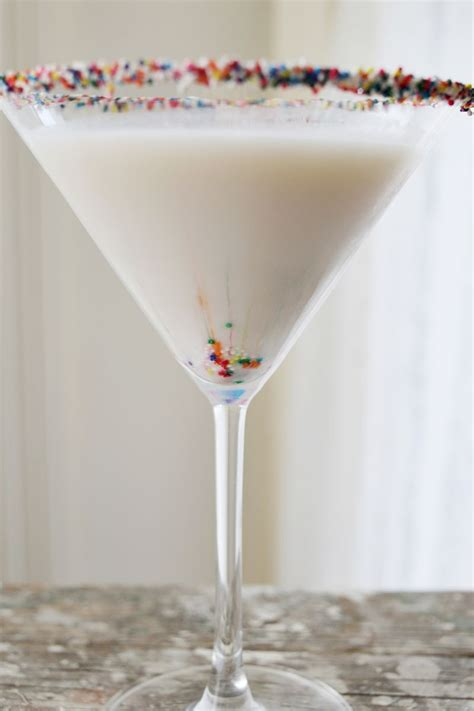 birthday cake martini birthday cake martini a beautiful mess