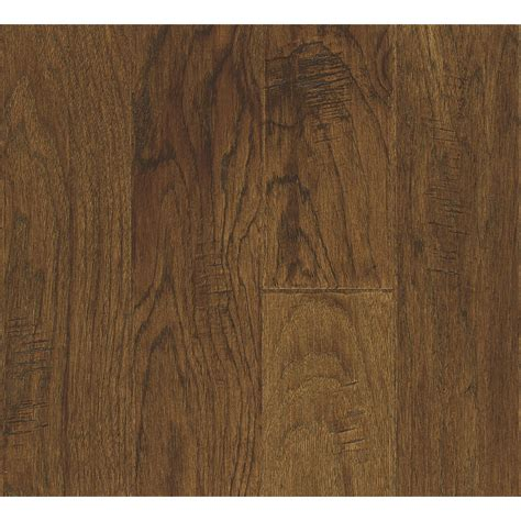 Best Prefinished Hardwood Flooring Shop Bruce America S Best Choice 4 8 In W Prefinished Hickory Locking Hardwood Flooring Fall