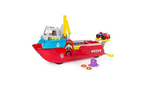 paw patrol boat canadian tire paw patrol sea patroller toys character george