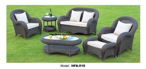 luxury outdoor furniture sale luxury rattan furniture handmake outdoor garden sofa set outdoor table chair sofa ottoman