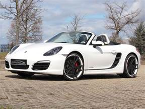 White Porsche Boxster S White Speedart Porsche Boxster S Sp81 R Gtspirit