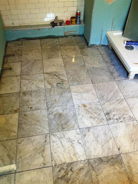 Tiled Bathroom Floors by Marble Tiles Edinburgh Tile Doctor
