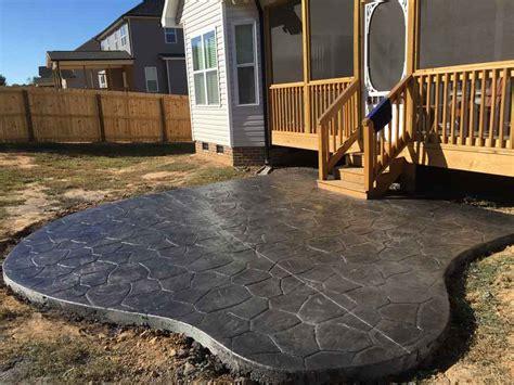 concrete patio nc concrete contractors raleigh nc we do concrete cheap