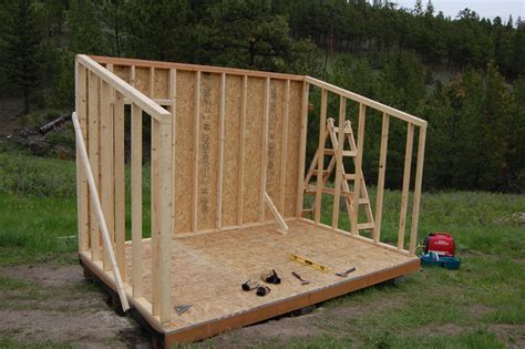 diy backyard sheds diy james how to build a storage shed 10x12