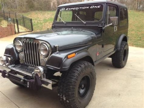 1974 Jeep Cj7 Find Used 1974 Jeep Cj5 With A Diesel Engine And