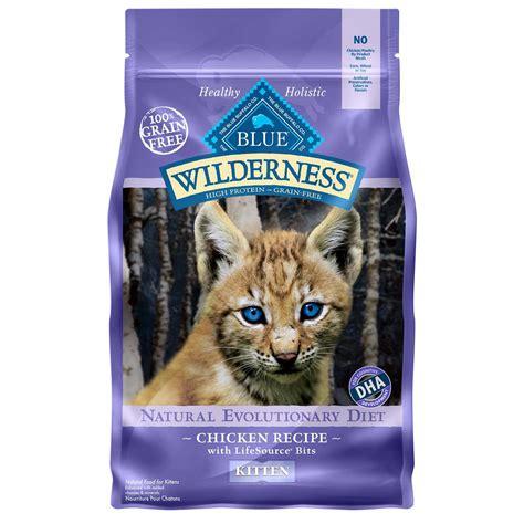 petco blue buffalo food blue buffalo blue wilderness kitten chicken recipe cat food 2 lbs petco