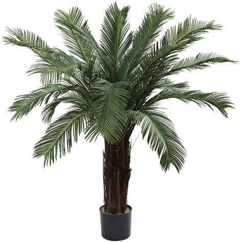 decorative indoor plants 4 silk cycas tree uv resistant indoor outdoor