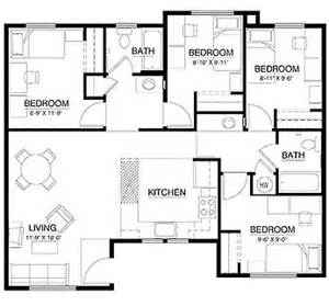 four bedroom flat floor plan fast acting find anything locator spell apartment floor