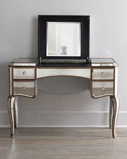 horchow bathroom vanities claudia mirrored vanity desk traditional bedroom