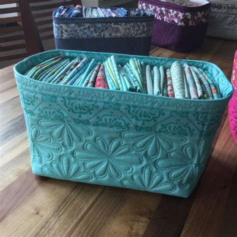 pattern fabric storage basket 17 best images about sewing fabric baskets boxes on
