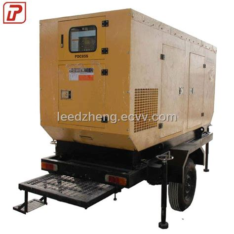mobile trailer type diesel generator purchasing souring