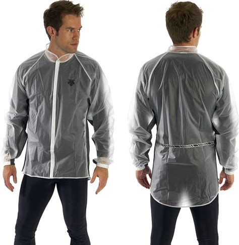 Cycling Jacket Clear Waterproof Cycling Jacket