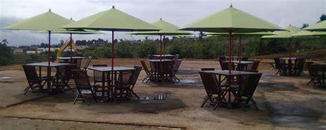 Set Payung Taman Payung Jati Payung Pantai Cafe Kafe Rumah Hotel 6 meja payung taman cafe pantai dan kolam renang harga murah
