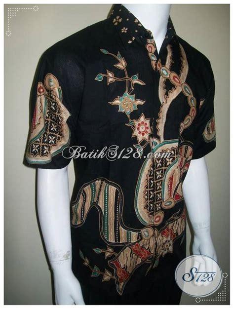 Hem Batik Hitam Manis 2 hem batik hitam batik tulis corak modern kontemporer ld174t toko batik 2018