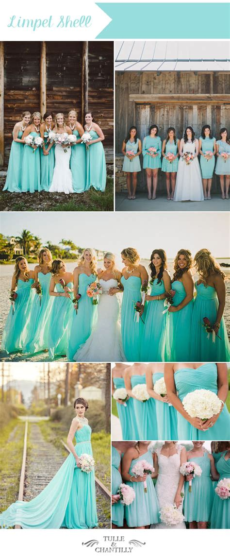 top 10 wedding colors for summer bridesmaid dresses 2016