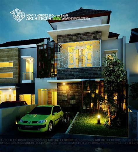 desain rumah pinterest desain rumah tropis 2 lantai novi2 arsitek desainrumah