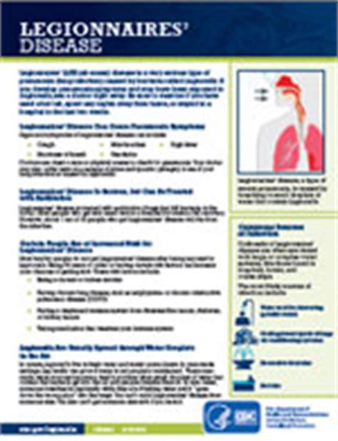 pontiac fever symptoms legionella about the disease legionnaires cdc