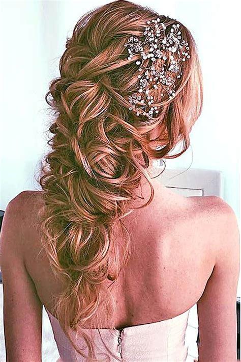 30 Amazing Wedding Hairstyles with Headpiece   Deer Pearl Flowers   Part 2