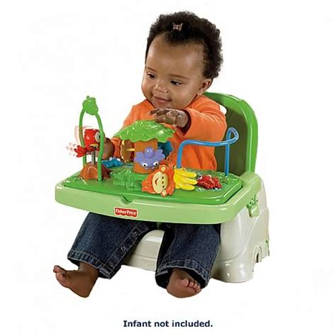 fisher price booster seat rainforest rainforest healthy care booster seat fisher price