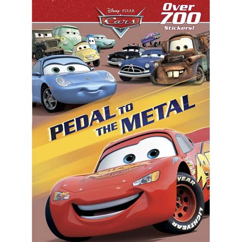 pedal to the metal disney pixar cars shop disney pixar cars pedal to the metal sticker activity at lowes com