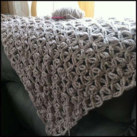 crochet pattern bulky yarn afghan jennyhats is making this wip crochet shawl using