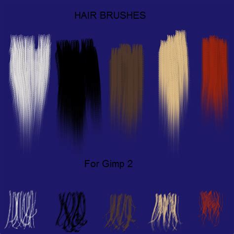 download hair brushes for gimp 5 hair brushes for gimp2 by jddndrbz on deviantart