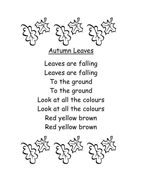autumn leaves testo preschool leaf craft