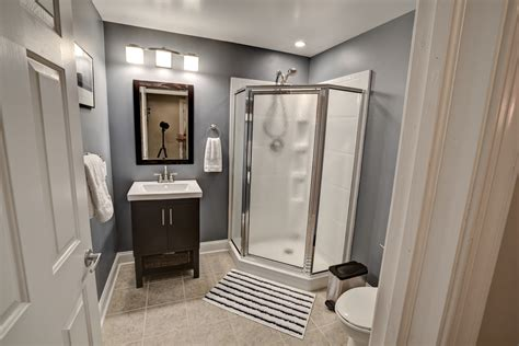 how to finish a basement bathroom step by step 24 basement bathroom designs decorating ideas design
