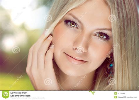 beautiful videos portrait of a beautiful young woman stock image image of