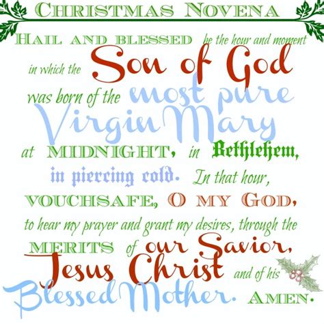 printable christmas novena liturgical living at a glance december