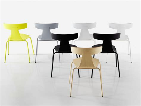 grcic stuhl stackable plywood chair remo metal by plank design