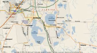 st cloud florida map map of st cloud