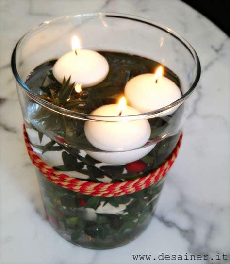 candele galleggianti ikea centrotavola natalizio con candele galleggianti