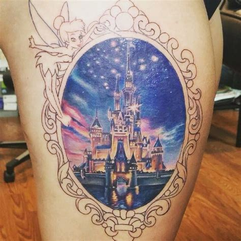 disney castle tattoo 25 best ideas about disney castle on