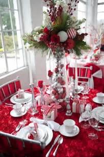 christmas centerpieces festive table decoration ideas