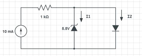 2 zener diodes in parallel current when zener and normal diode in parallel picture inside electrical engineering