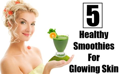 healthy skin and hair smoothies acne treatments