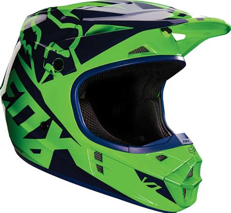 green motocross helmet 2016 fox racing v1 race helmet motocross dirtbike mx atv