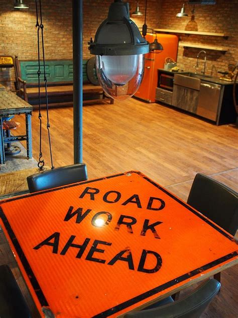 Street Smart Style: Decorating Your Home with Road Signs