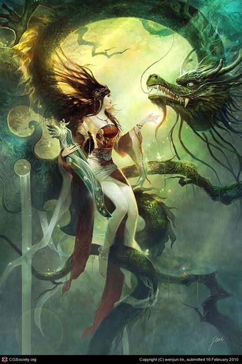 goddess of light by wenjun