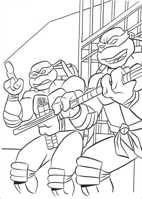 donatello and michelangelo teenage mutant ninja turtles