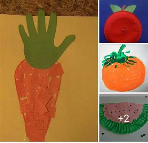v fruits and vegetables 44 best fruit and vegetable crafts for preschoolers images