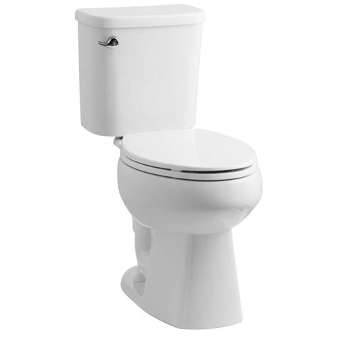 lowes bathroom toilets shop sterling windham white 1 28 gpf 4 85 lpf 12 in